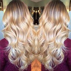 Great blonde hair