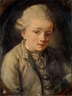 Portrait of a Boy (Wolfgang Amadeus Mozart)Jean Baptiste Greuze – French) Claude Debussy, Classical Music Composers, Amadeus Mozart, Jean Baptiste, Piece Of Music, Opera Singers, French Artists, Oil On Canvas, Musicals