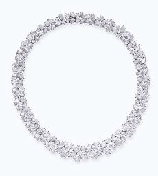 Classic Harry Winston Wreath Necklace  Luxury at its' best