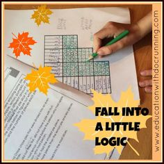 Love having logic puzzles on hand for challenge, time-fillers, bell-ringers and just fun.
