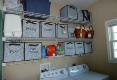 Another amazing laundry room transformation with Thirty One Gifts! www.mythirtyone.com/87193