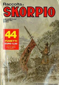 Fumetti EDITORIALE AUREA, Collana SKORPIO RACCOLTA n°501 Octobre 2015