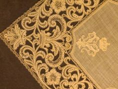 Needle Lace, Bobbin Lace, Linens And Lace, Lace Embroidery, Type 3, 18th, Theater, Photos, Pictures