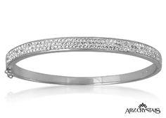 A silver #bracelet .