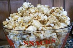 No Kernel  Caramel Puff Popcorn. Photo by 2Bleu