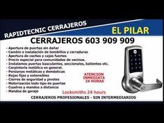 CERRAJEROS BARRIO EL PILAR VALENCIA 603 909 909