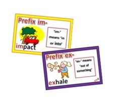 Use these Illustrated Prefix Cards to keep your students engaged in fun activities that reinforce the definition of each prefix and examples of words that take on the meaning of the #prefix when it is added to them. Over two dozen of the most common #prefixes are used in these cards, they are: mis, de, a, ab, abs, fore, tri, pre, re, dis, in, dif, semi, micro, ex, un, *im, sub, inter, pro, *im, tele, bi, super, under. #Vocabulary #education