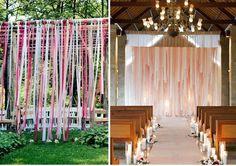 casamento ao ar livre rustico corredor da noiva - Pesquisa Google