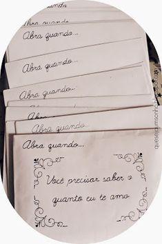 "Let it be a dream: DIY & Valentine gift ideas: Letters ""Open when . - Let it be a dream: DIY & Valentine gift ideas: ""Open when ."