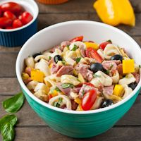 Antipasto Tortellini Salad #SundaySupper