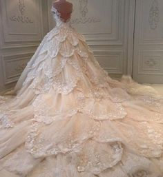 Fairytale wedding dress                                                                                                                                                      More
