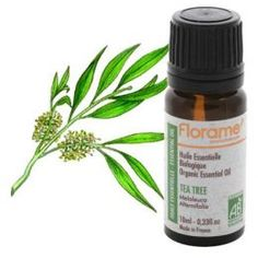 Tea Tree Oil-Great for skin!  Perfect for people with Psoriasis or Eczema.