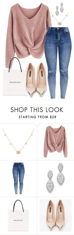 """""""699"""" by francescas22 on Polyvore featuring Gucci, Bloomingdale's, Balenciaga and Louis Vuitton"""