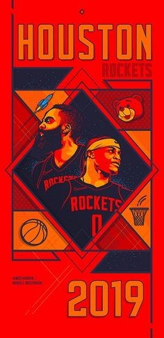 NBA 2019 - Houston Rockets on BehanceYou can find Houston rockets and more on our website.NBA 2019 - Houston Rockets on Behance Nba Rockets, Houston Rockets Basketball, Basketball Art, Basketball Leagues, Basketball Players, Basketball Photography, Nba Wallpapers, Larry Bird, Detroit Pistons
