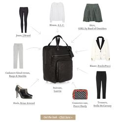 An absolutely fantastic goop issue on travel packing tips and staying fashionable on the go!