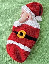 Santa Cocoon & Hat