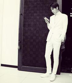 No Min Woo Asian Boys, Asian Men, Asian Actors, Korean Actors, We Heart It, No Min Woo, Formal Suits, Jawline, Most Beautiful Man