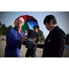 Performance by Patrick Jambon at JIEAF 11월 3일 남주중학교에서 열린 워크숍 사진입니다.  #photographed by 반구대(Heo Jeonghwan)  #제주국제실험예술제 #JIEAF #실험예술 #퍼포먼스 #KOPAS #서귀포JC #아트워크숍 #이중섭거리 #서귀포관광