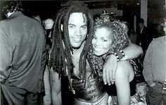 Janet Jackson & Lenny Kravitz Janet Jackson Baby, Jo Jackson, Jackson Music, Jackson Family, Michael Jackson, Celebrity Pictures, Celebrity Style, Poetic Justice Braids, Janet & Janet
