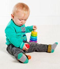 Buzzing Brains Wooden Stacker | Kiddicare