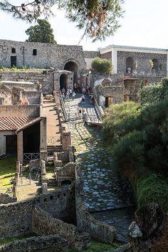 Pompeii - the Porta Marinara