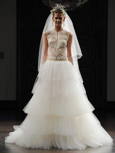 Naeem Khan...Gorgeous details.Get that designer look without the designer $$$, have it custom-made.Take 1-3 details & design your unique wedding dress.