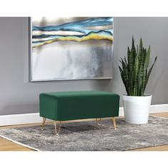 null Capture attention with this striking bench with our Bullington Bench Color: Navy Blue Side Chairs, Dining Chairs, Upholstered Bench, Your Space, Interior Architecture, Upholstery, House Styles, Inspiration, Furniture