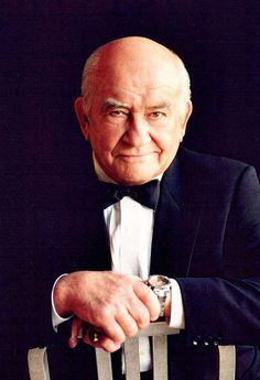 Ed Asner - Great actor! Just realized he looks like some family members.