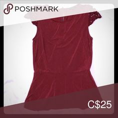 Warm Rust-Red Top with Detailed Capped-Sleeves Cap Sleeve Top, Cap Sleeves, Red Colour, Plus Fashion, Fashion Tips, Fashion Trends, Rust, Chrome, Blouses