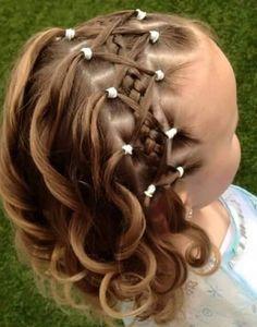 Lindo peinado con trenzado & bucles ideal para cualquier tipo de fiesta!!♡☺