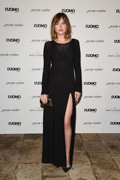 #DakotaJohnson Attends L'uomo Event - Trailer Online Scenes Set 2017 - Fifty Shades Darker Movie