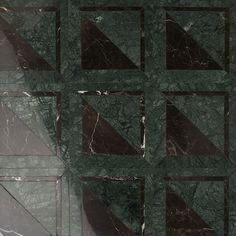GeoMarble Lados Verde Labrador Polished Marble Mosaic | Tilebar.com