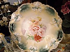 R. S. Prussia Handled Bowl