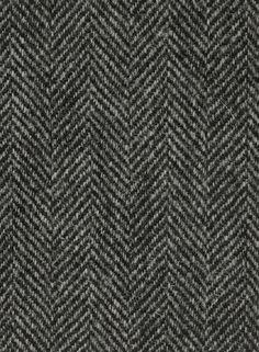Harris Tweed Hebrides Cloth : KU222-A1 cloth is a classic black and dark grey herringbone.