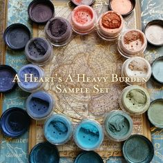 A Heart's A Heavy Burden mineral eyeshadow collection (Howl's Moving Castle)