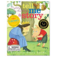 Melissa Sweet's whimsical forest creations come together to make the Mystery in the Forest: Tell Me a Story Creative Story Cards a true family favorite. Pre-schoolers will mix and match a total of 36