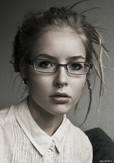 beautiful. And damn, I really want a septum piercing.