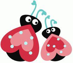 Silhouette Design Store - View Design #72704: love bugs