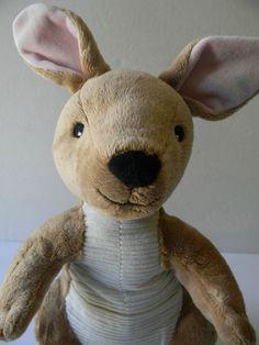 """16"""" Kohl's Cares Brown Kangroo Stuffed Animal Plush Soft Toy #Kohls"""