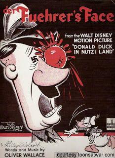 Disney's Der Fuehrer's Face - sheet music