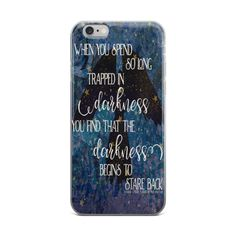 ACOMAF Darkness iPhone cases! Shop at www.blubearbazaar.com #acomaf #bookish
