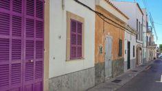 Colourful street in Porto Colom