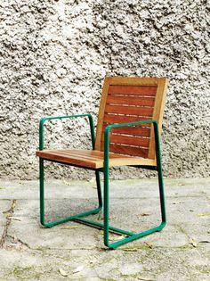 Ovoo - Cadeira Milan Madeira