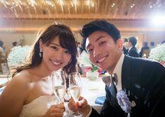 絶対に撮っておきたい**披露宴開始の『乾杯の瞬間ショット』は必ず指示書に入れるべき!のトップ画像 Wedding Notes, Wedding Album, Wedding Tips, Our Wedding, Wedding Planning, Dream Wedding, Wedding Photo List, Japanese Wedding, Romantic Pictures