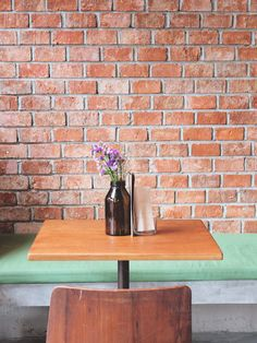 Table setting in hipster restaurant by Nuchylee Photo on Creative Market