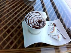 A perfect cup of coffee..