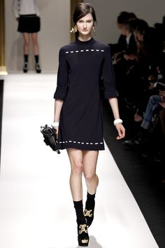 Adorable, chic, and a little mod - Moschino A/W 2013/14 RTW