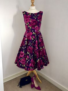 Hazel's beautiful floral Betty Dress