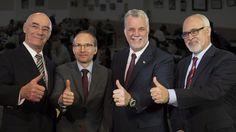 Québec – Le premier ministre Philippe Couillard a fait connaître son plan de contrôle de la croissance économique du Québec, hier, afin d'atteindre prochainement le chiffre magique de 75000 emplois perdus en un mois. Se disant persuadé de réussir à atteindre cet objectif ambitieux, dès l'automne prochain, M. Couillard s'appuie sur un rapport du ministère […]