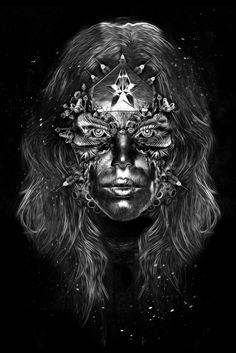 FANTASMAGORIK® WONDER WOMAN  Digital Art, Illustration